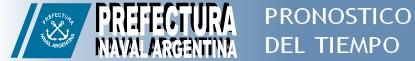 Prefectura Naval Argentina - Pronostico del Tiempo